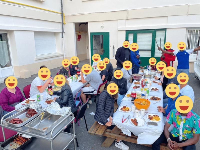 Barbecue MECS Les FAUVETTES